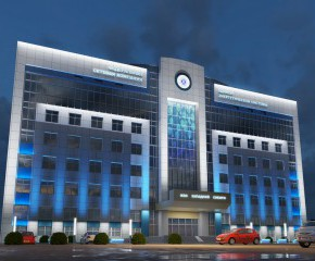 Administrative and amenity building of  FCC Western Siberia MPN